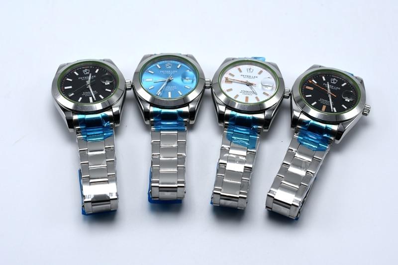HTB10z5IhL5TBuNjSspcq6znGFXad PETER LEE Automatic Mechanical Mens Watches Top Brand Luxury Male Clocks Full Steel Watch Classic Fashion Men Watch reloj hombre