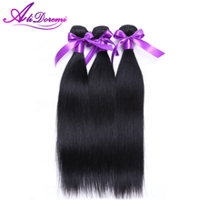 8-28″ Malaysian Virgin Hair Weave,Unprocessed Human Straight Virgin Hair,Double Weft Black Malaysia Straight Hair,AliDoremi Hair