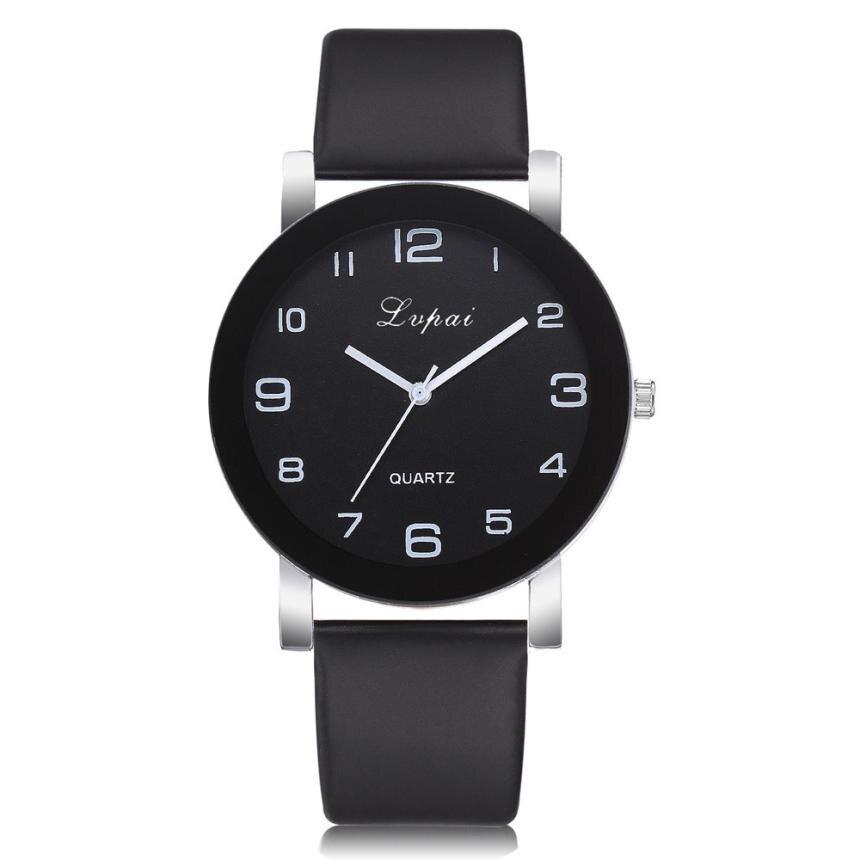 LVPAI Women's Fashion Watch Luxury Quartz Watch Leather Stra