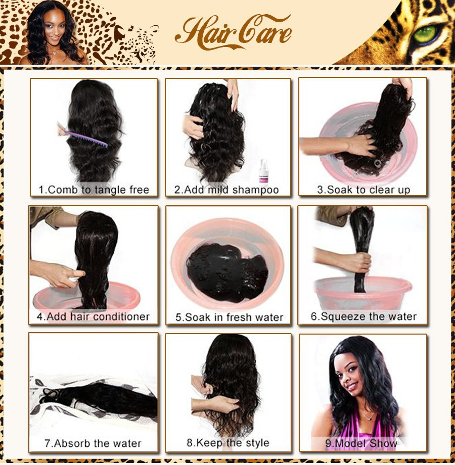 360 lace virgin hair