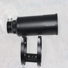 60mm télescope Guide Guide portée avec métal vis MicroFocuser directeurs Six point soutien