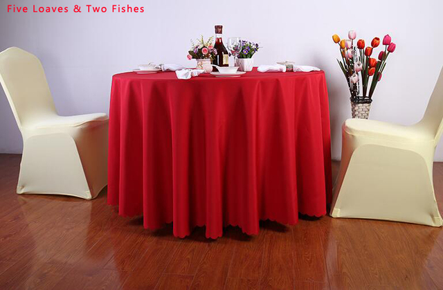 New Arrive High Quality Solid Color Hotel Tablecloth For Wedding Restaurant  Square Table Cloth Beautiful Thick