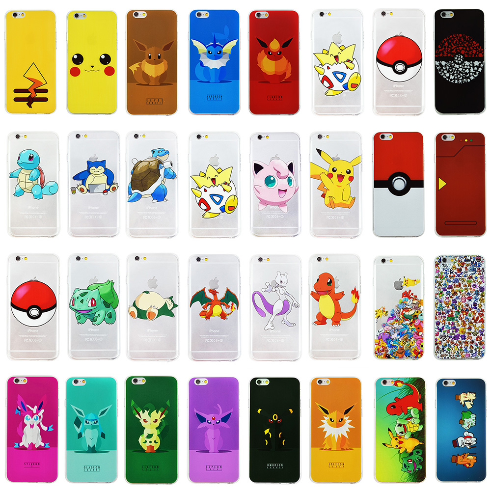 pokemon iphone 5 6 cases free shipping worldwide. Black Bedroom Furniture Sets. Home Design Ideas