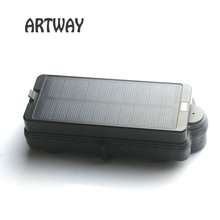 Vehicle solar Wifi GPS Tracker TK05SW Strong Magnet Power Bank Asset Boat Anti theft Drop Alarm Tracker car wifi GPS position