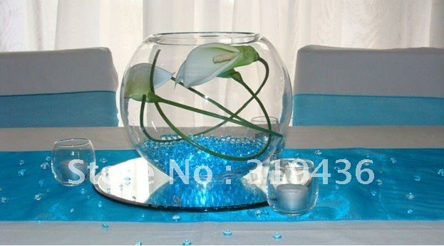 Free Shipping Top Selling Fashion Wedding Decoration Crystal Soil