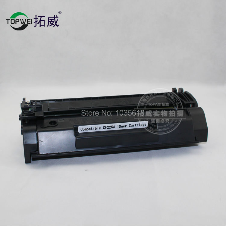 CF226X Black  toner cartridge for HP for HP LaserJet Pro M402D/M402DW/M402DN  LaserJet Pro MFP M426DW/M426FDW printer