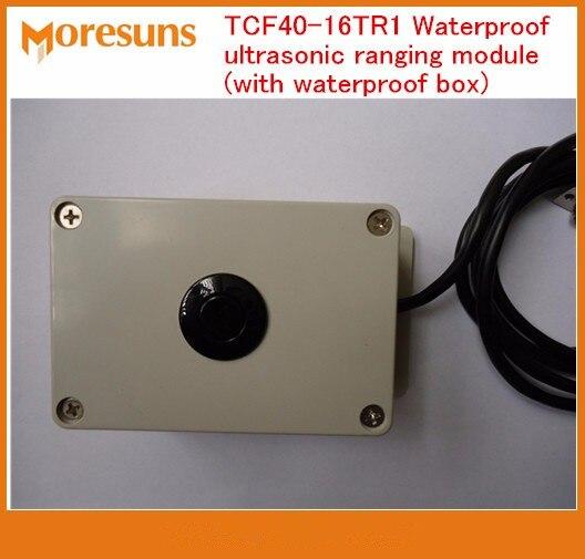 Fast Free Ship TCF40 16TR1 Waterproof ultrasonic ranging module with waterproof box ultrasonic sensor Parking Guidance