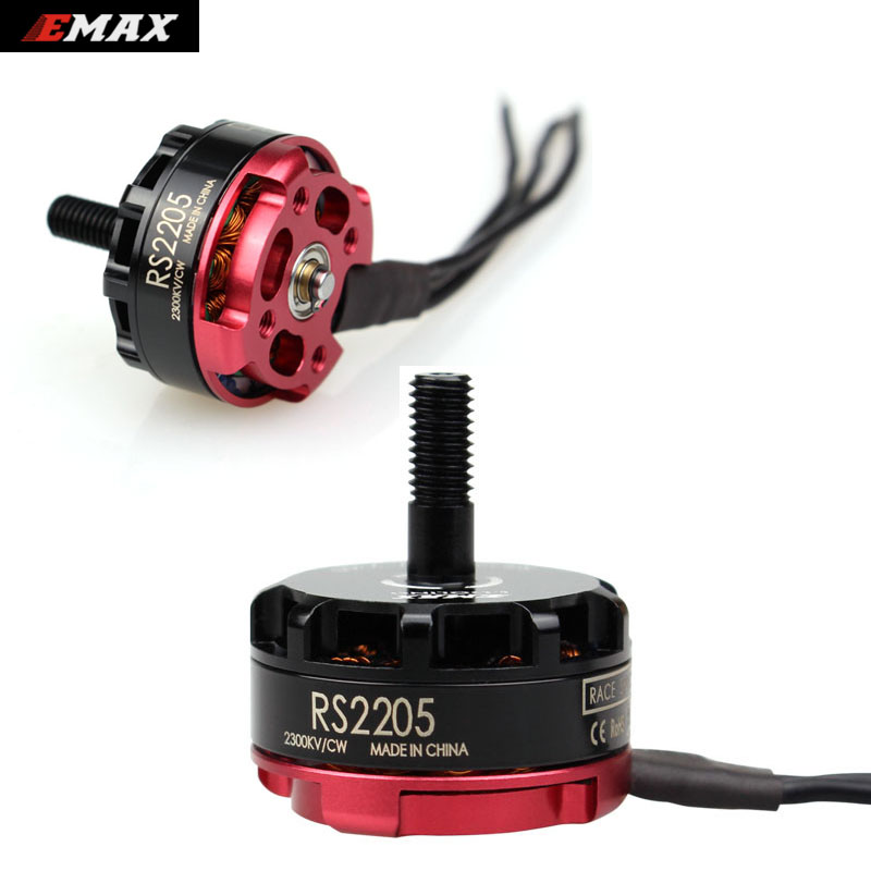 100% Original Product Emax RS2205 2300KV 2600KV Racing Edition CW/CCW Motor For RC Helicopter Quadcopter FPV Multicopter Drone high quality kingkong 1306 3100kv 2 4s burshless motor cw ccw for fpv racer drones rc multicopter
