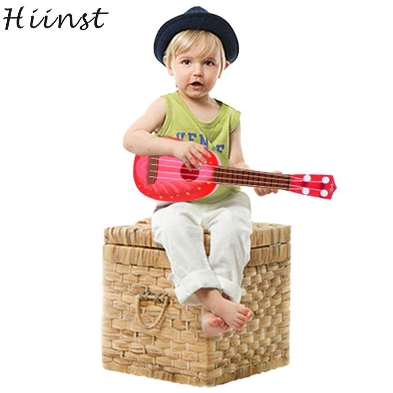HIINST Modern Children Learn Guitar Ukulele Mini Fruit Can Play Musical Instruments Toys For Kids Children Feb14