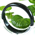Morning 100% Natural Black Jade Bangle Bracelet Health Care Black Jade Stone Bangle Men Natural Black Green Jade Jewelry Gift