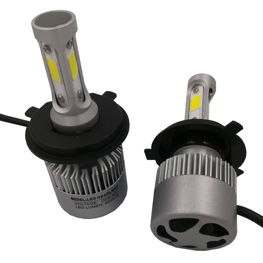 S2 Car <font><b>LED</b></font> Headlight Kit H4 Hi/Lo H7 <font><b>H11</b></font> 9004 HB3 9007 HB4 H1 COB <font><b>LED</b></font> Head Lamp Single High Low Car Bulb <font><b>LED</b></font> Car Bulb Auto Head