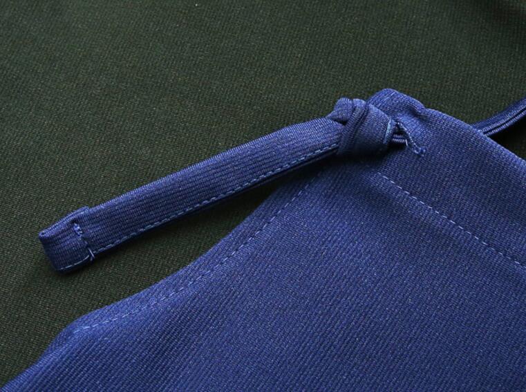 Women Elegant Jumpsuit Romper For Women Plus Size 5XL 2018 Cotton Playsuits And Jumpsuits Female Blue And Black Color Bodysuit