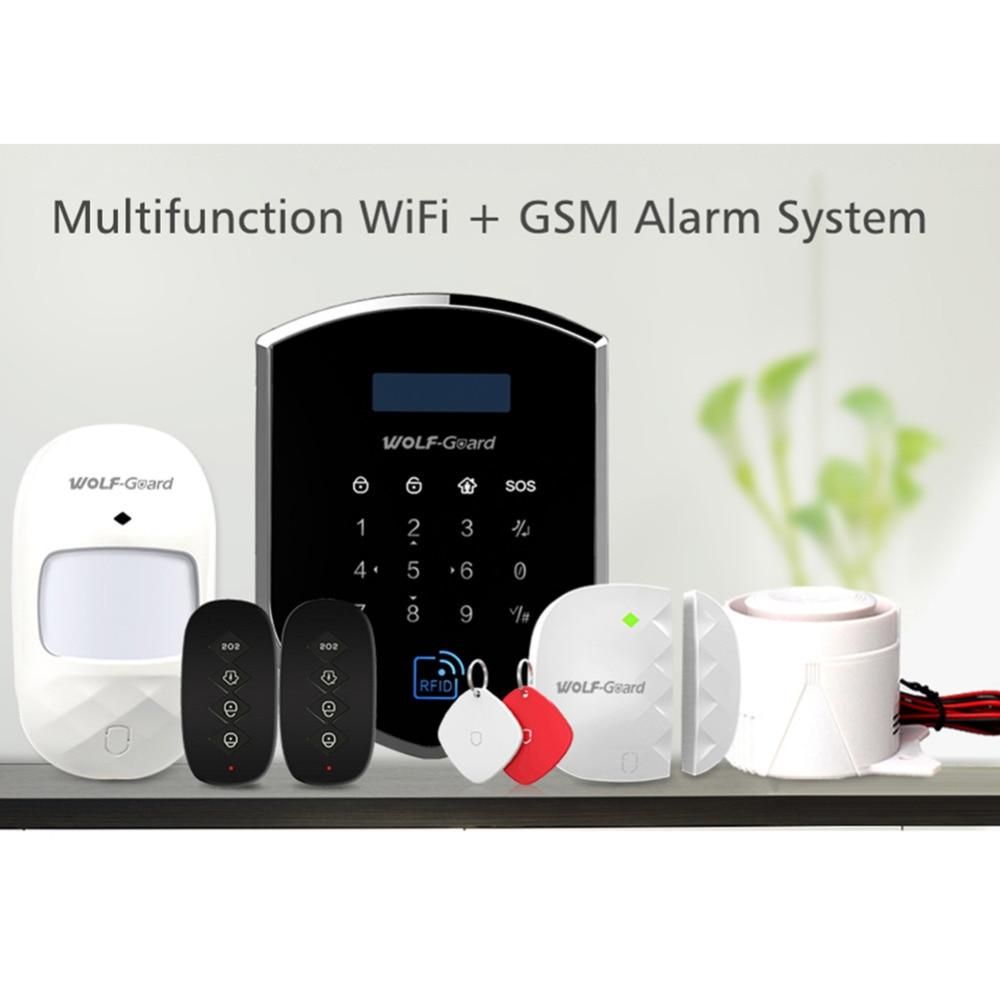 Wolf Guard DIY Wireless GSM 2.4GHZ WIFI Home Alarm ...