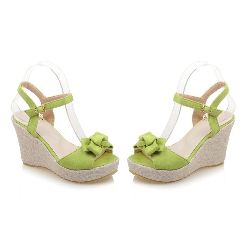 Plate D'été Nubuck Boucle vert forme Cuir Sandales Solide Red Pu Style Noir Femmes Chaussures mei Bohême En Doux Morazora Cales f4qYtwCq