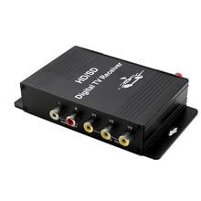 Vancago Car Digital ISDB-T TV Box TV Receiver tuner 1 Seg for Brazil Chile Peru South American Countries