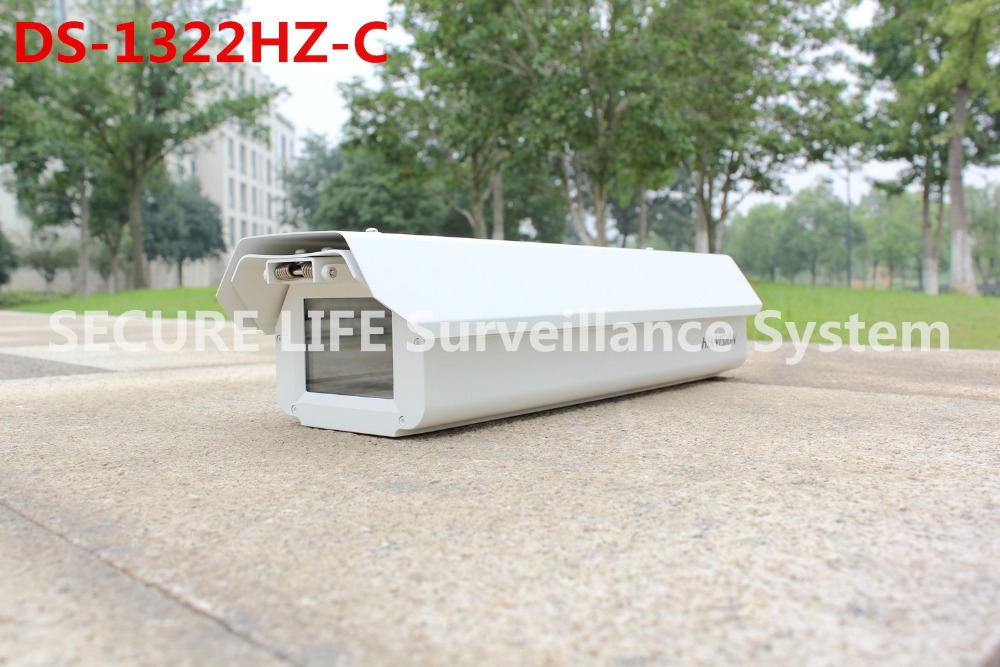 ФОТО DS-1322HZ-C replace DS-1321HZ DS-1311HZ CCTV camera outdoor housing with fan, sun shading cover, ip camera metal housing