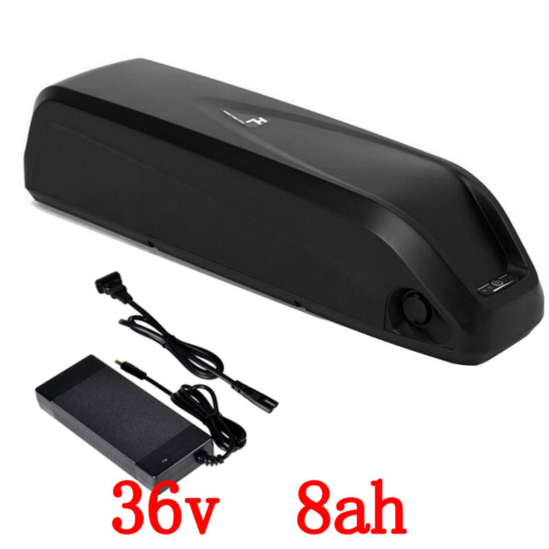 Lithium Bicycle Battery 36v 8Ah 500W Battery 36v with 42v 2A charger 15A BMS e-Bike Battery 36v Free Shipping liitokala 36v 6ah 500w 18650 lithium battery 36v 8ah electric bike battery with pvc case for electric bicycle 42v 2a charger