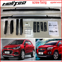 Hot for Chevrolet TRAX 2013 2017 roof rail roof rack bar, install by screws instead of glue,OE upgraded style,guarantee quality