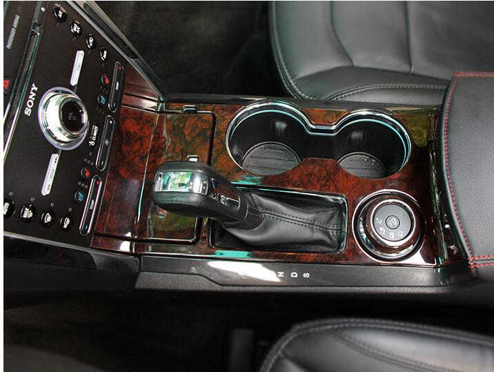 2013 2014 2015 2016 2017 for ford explorer interior water cup holder gear panel cover gear trim for 2013 ford explorer interior parts