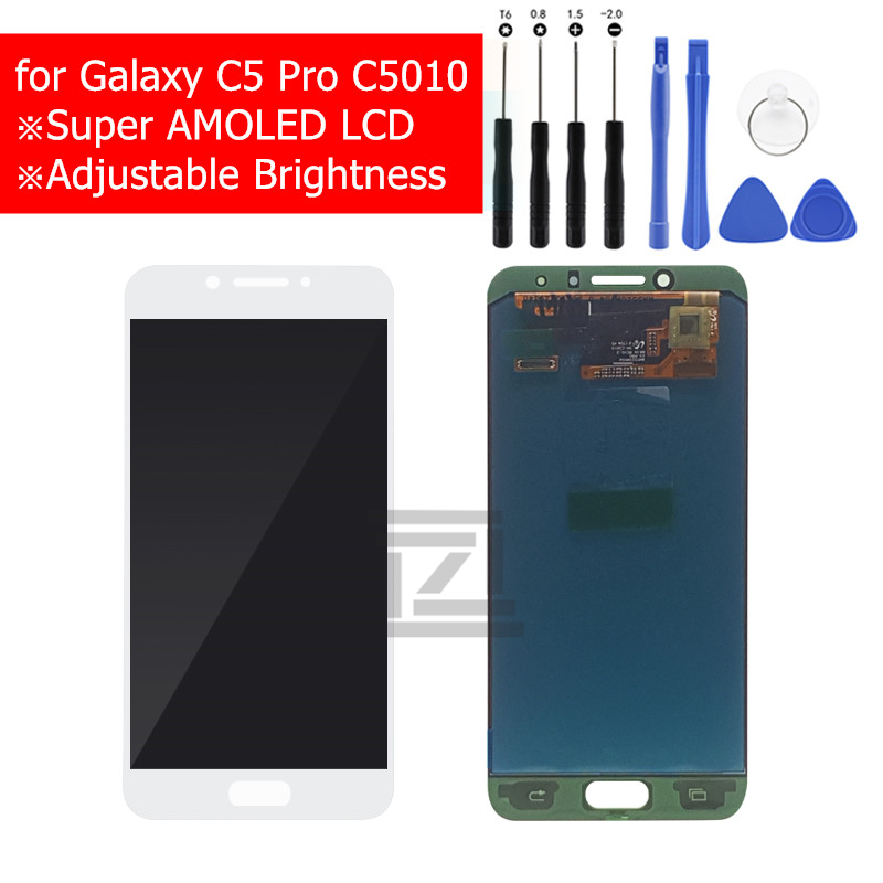 For samsung galaxy c5 pro lcd display Touch Screen digitizer LCD Display for galaxy c5 pro