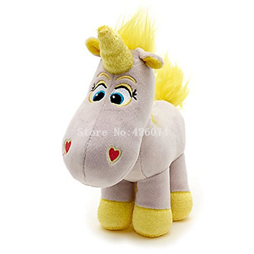 New Toy Story Buttercup Unicorn Plush For Girls Boys 22CM Kids Stuffed Animals Toys Children Gifts toy story bunny toys