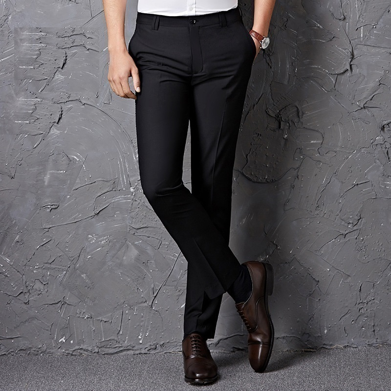 e0baaffe4f Homme Luxe Skinny Dress Pantalones De Vestir Para Pantalon hombre Formal men  Summer Spring Slim Fit Office Pants Trousers