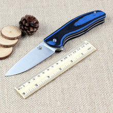 Quality Bear head folding knife D2 blade outdoor tactical knife G10 handle EDC Flipper pocket knife high quality hand tool