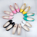 Spring Summer women Flats Moccasins Shoes Genuine Leather women Ballet Flat Shoes Casual Loafers Slip On Driving shoes Plus size
