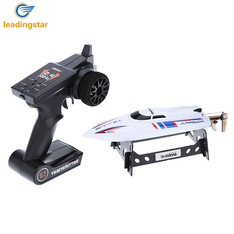 LeadingStar RC boat 2.4GHz 20KM/H High Speed Brushless RC Boat remote control boats Toys For Children Speed Boat ZK35 h625 pnp spike fiber glass electric racing speed boat deep vee rc boat w 3350kv brushless motor 90a esc servo green