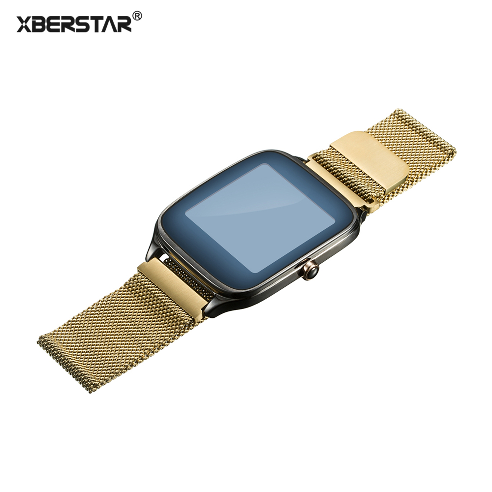 Milanese Loop Wrist Watchband Strap For ASUS ZenWatch WI500 / Zenfone Watch 2 WI501Q WI502 / ASUS Vivo Watch