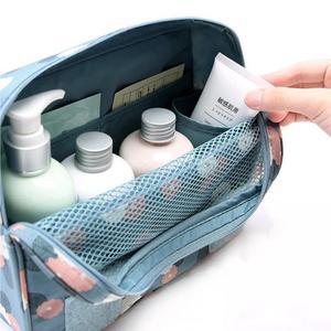Image 5 - Nuevo estuche para maquillaje de viaje para colgar en la pared, bolsa de maquillaje para mujer, neceser colgante, Kit de viaje, organizador de joyas, estuche para cosméticos