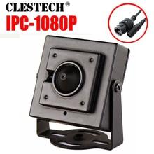 hidden 3.7mm Cone Lens HD CCTV digital Mini Metal iP Camera 1080P 720P 2mp P2P Super Small ONVIF Internal Micro webcam