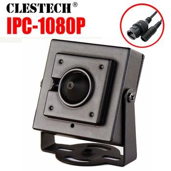 hidden 3.7mm Cone Lens HD CCTV digital Mini Metal iP Camera 1080P 720P 2mp P2P 3.7mm Super Small P2P ONVIF Internal Micro webcam
