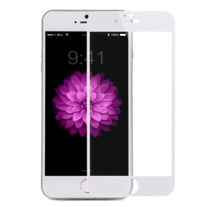 3D Curved Tempered Glass for iphone 7 Screen Protector Full Coverage Glass for Iphone 7 Tempered Glass with Alcohol Package