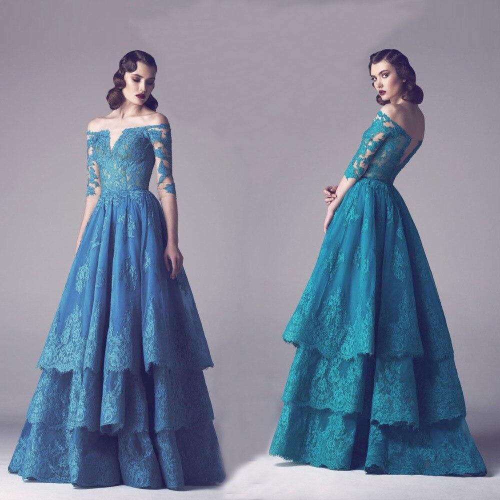 Dress Vintage Blue