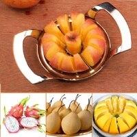 จัดส่งฟรีสแตนเลสผักผลไม้แอปเปิ้ลลูกแพร์ตัดตัดการประมวลผลครัวภาชนะเครื่องมือss873