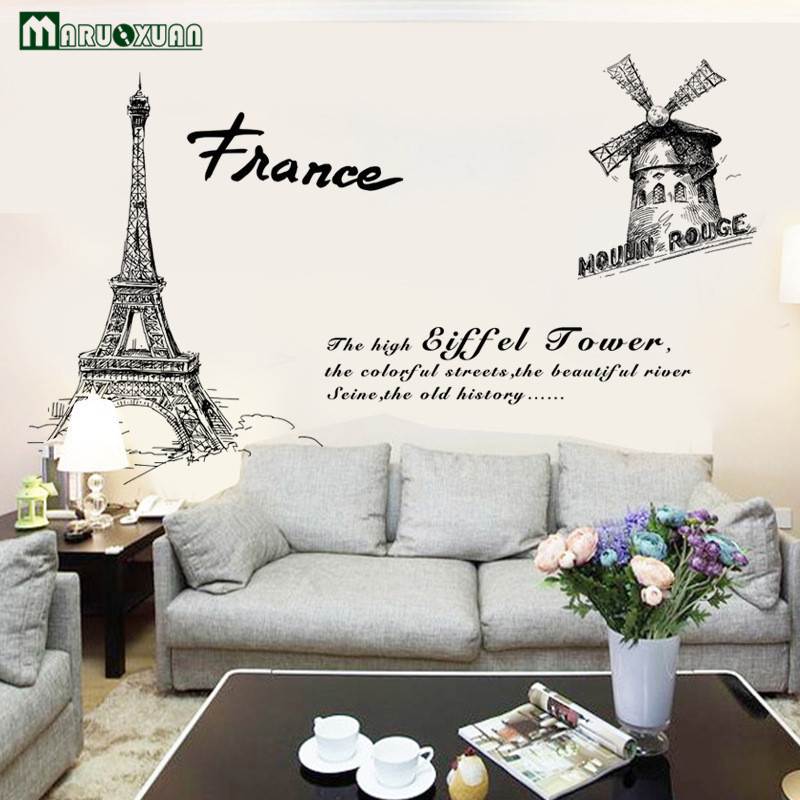 Online Buy Wholesale room wallpaper paris from China room ...