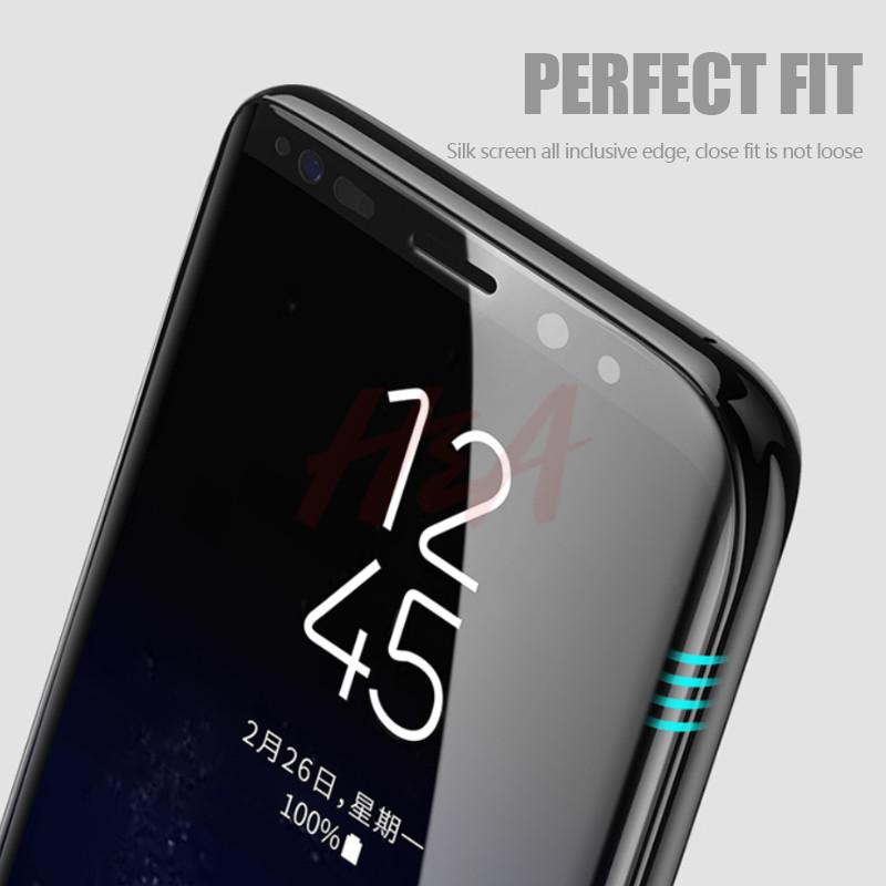 Image 3 - H&A 10D Tempered Glass For Samsung Galaxy S9 S8 Plus Note 8 9 Screen Protector Film For S8Plus S9Plus Protective Glass-in Phone Screen Protectors from Cellphones & Telecommunications