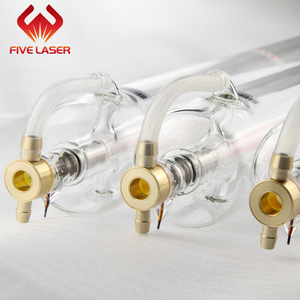 CO2 laser parts--50w glass laser tube SPT C50 for laser engraving machine leather & garment cutting