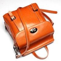 Fashion Women S Backpacks Cow Split Leather Women Girl Student School Bag Small Shoulder Bags Women
