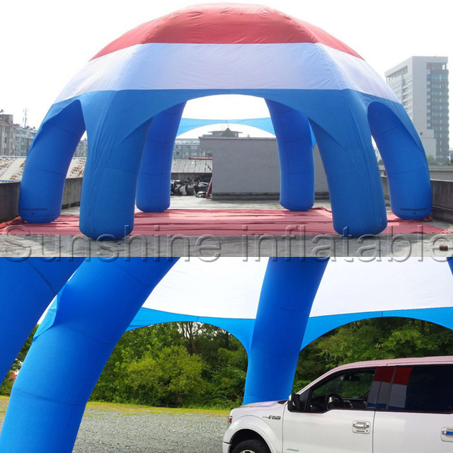 High quality large sun shade inflatable spider dome tent inflatable car tent car wash tent & High quality large sun shade inflatable spider dome tent ...