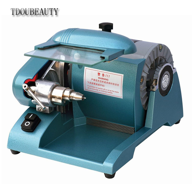 TDOUBEAUTY2,800rpm JT-24B Dental High Speed Cutting Polishing Lathe Motor Machine Drilling (Contains Alloy Cutting Head) dental endodontic root canal endo motor wireless reciprocating 16 1 reduction