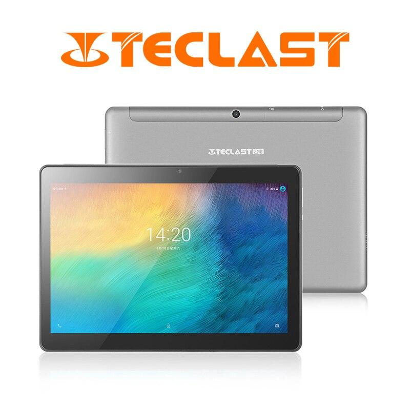 Teclast M20 Double 4G LTE Tablet PC 10.1 pouces 2560*1600 Android 8.0 MT6797 X23 Deca Core 4 GO de RAM 64 GB ROM Téléphone Comprimés