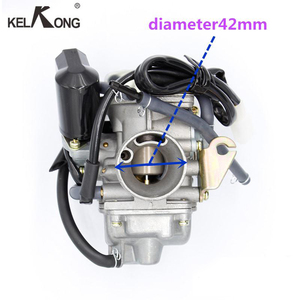 Image 3 - KELKONG New GY6 125cc 150cc Motorcycle Carburetor Carb For BAJA Scooter ATV Go Kart Scooter Moped 125cc PD24J Motorcycle parts
