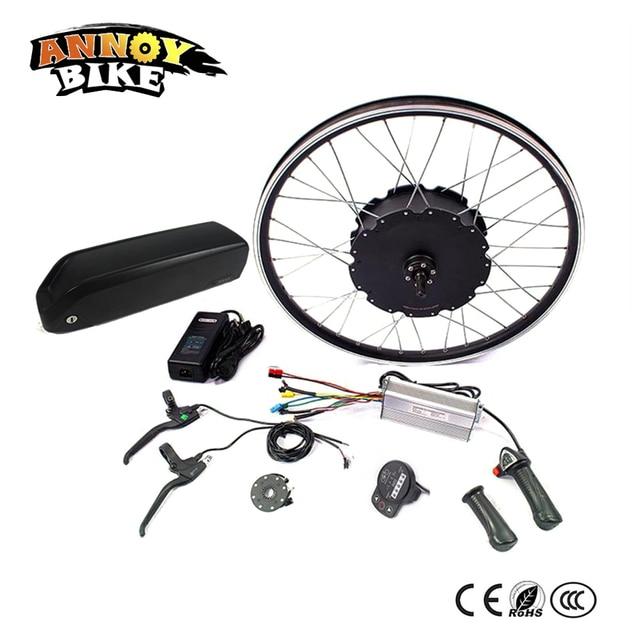 48 v 1500 w Motor Ebike kit di Conversione Della Bici Elettrica kit per 20
