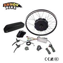 48 В в 1500 Вт двигатель Ebike комплект Электрический велосипед Conversion kit для 20 «24» 26 «700C 28» 29 «Заднее колесо Электрический bicicleta с батареей