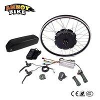 48V 1500W Motor Ebike kit Electric Bike Conversion kit for 20 24 26 700C 28 29 Rear Wheel electric bicicleta with battery