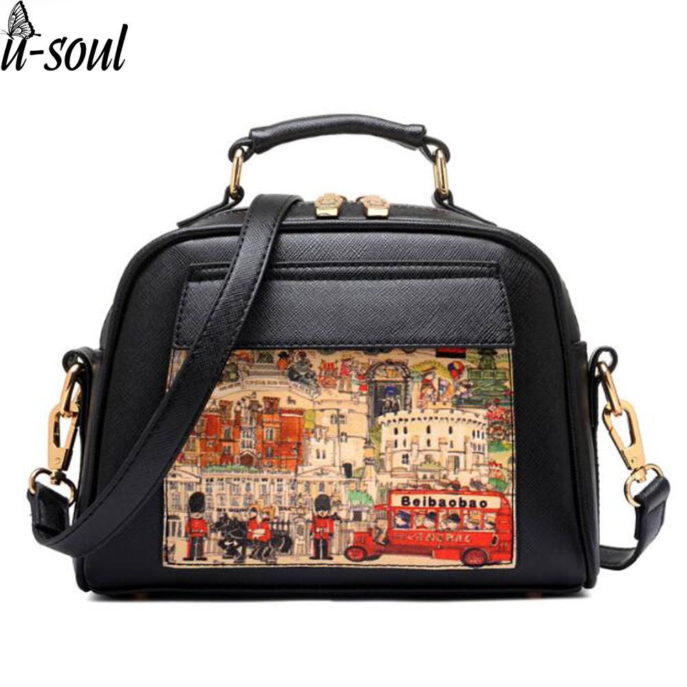 Women Bag Handbag PU Leather Women Leath
