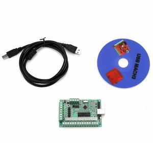 Image 2 - Mach3 placa de interface usb mach3 cartão de controle de movimento placa de interface usb para máquina gravura cnc controlador