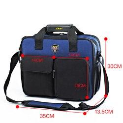 FASITE genuino Multi-función portátil hombro reparación Kit bolsa herramienta bolsa/caja azul